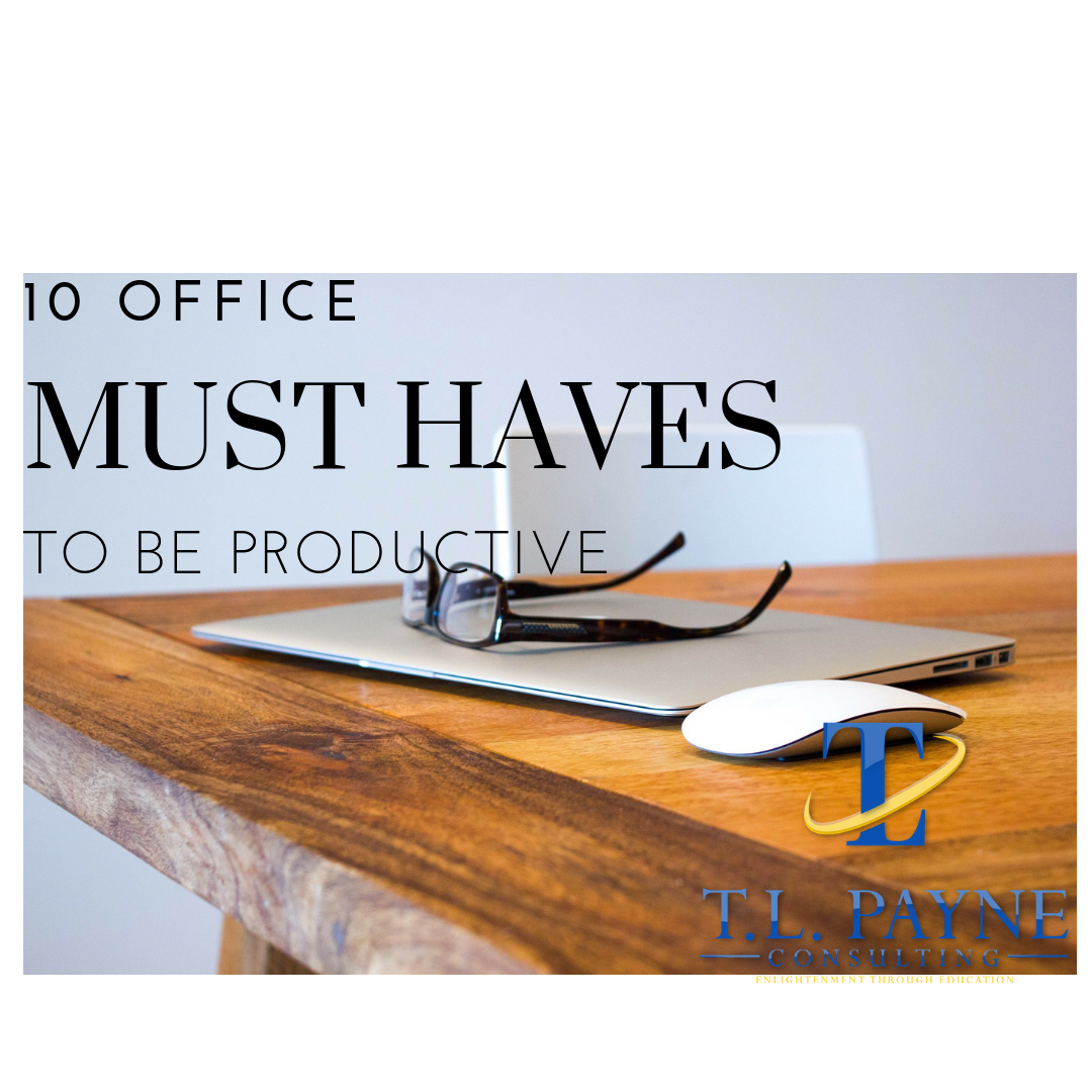blog post Office Must haves